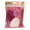 Misto lana e cordoni assortiti Rosa