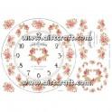 Carta di riso Shabby Roses