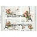 Carta di riso Bicicletta & Lettere