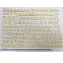 Mini Sagome in legno alfabeto